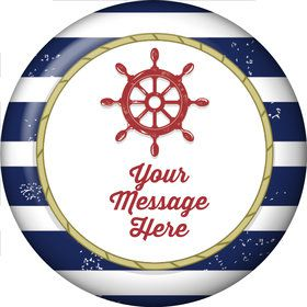 Nautical Personalized Magnet (Each)