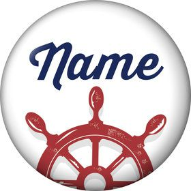Nautical Personalized Mini Magnet (Each)