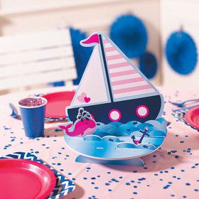 Nautical Pink Centerpiece (Each)