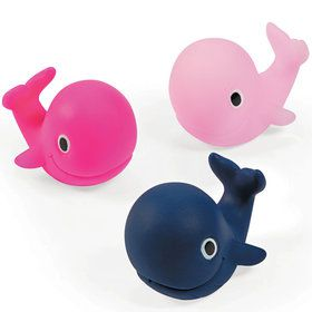 Nautical Pink Whale Squirts (12 Count)