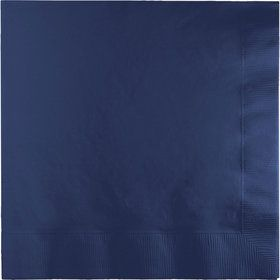 Navy Lunch Napkins