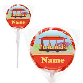 "Neighborhood Tiger Personalized 2"" Lollipops (20 Pack)"