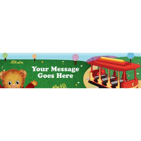 Neighborhood Tiger Personalized Banner (Each)