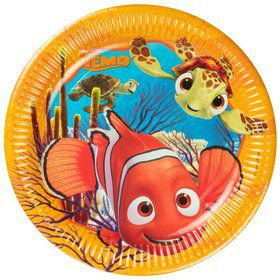 Nemo Paper Luncheon Plates (8 Pack)