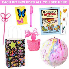 Neon Birthday Favor Kit