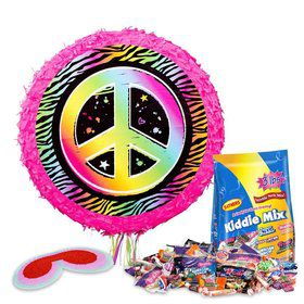 Neon Birthday Pinata Kit