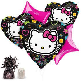 Neon Hello Kitty Balloon Kit (Each)