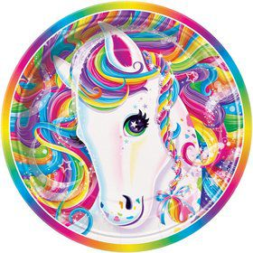 "Neon Pony 9"" Luncheon Plates (8 Pack)"
