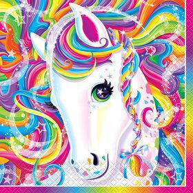 Neon Pony Lisa Frank Luncheon Napkins (16 Pack)