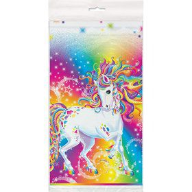 Neon Pony Lisa Frank Plastic Table Cover (Each)