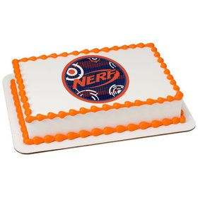 Nerf Blast Quarter Sheet Edible Cake Topper (Each)