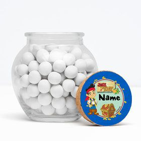 """Never Land Pirates Personalized 3"""" Glass Sphere Jars (Set of 12)"""