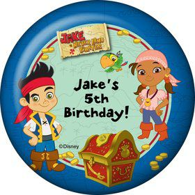 Never Land Pirates Personalized Magnet (Each)