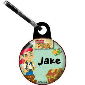 Never Land Pirates Personalized Mini Zipper Pull (Each)