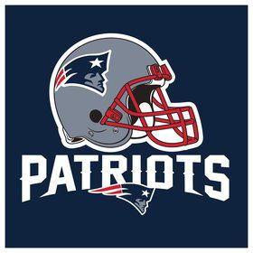 New England Patriots Luncheon Napkins (16 Count)