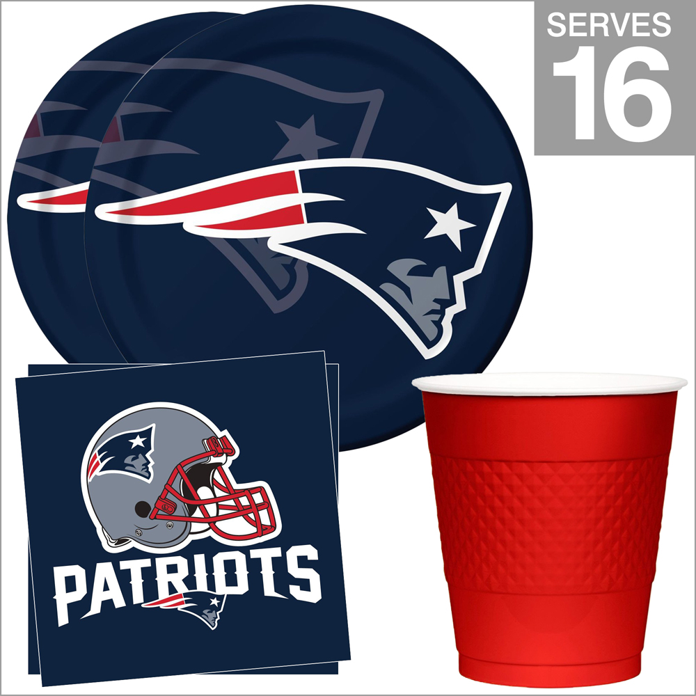 New England Patriots NFL Party Supplies Standard Kit for 16  eBay