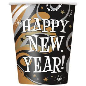 New Year's Burst 9oz Cups (8 Pack)