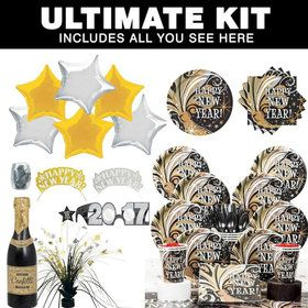 New Year's Burst Ultimate Tableware Kit Serves 8