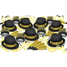 New Years Gold Glow Assortment for 50