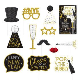 New Year's Honeycomb Photo Props (12)