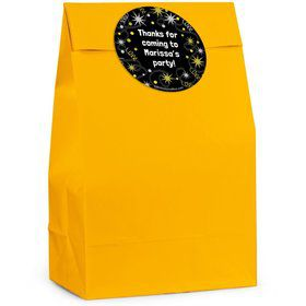 New Years Personalized Favor Bag (Set Of 12)