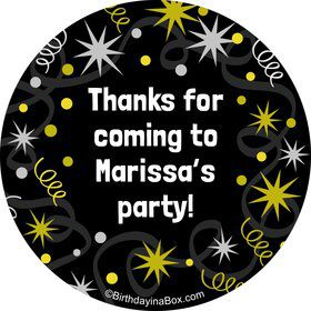 New Years Personalized Stickers (Sheet of 12)
