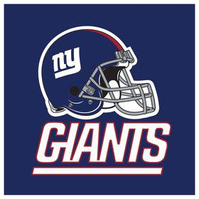 New York Giants Luncheon Napkins (16 Count)