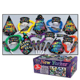 New Yorker New Year's Kit (For 10)