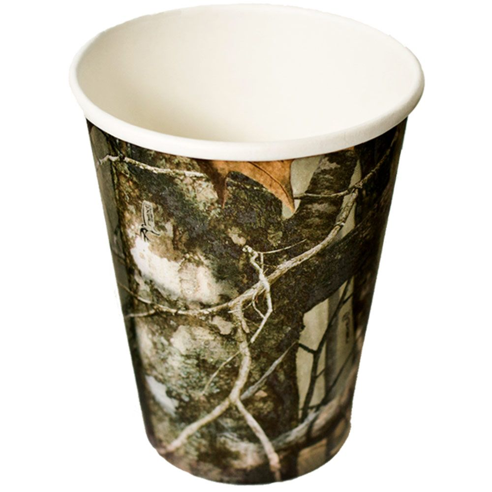 Next Camo 12 Oz. Party Supplies Cups BB76805