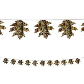 Next Camo 12ft. Leaf Banner Decoration (Each)