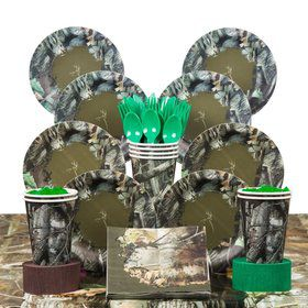 Next Camo Deluxe Tableware Kit Serves 8