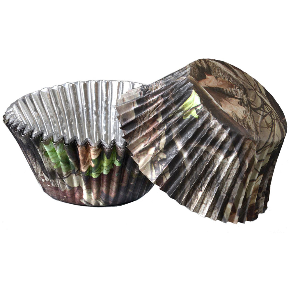 Next Camo Foil Cupcake Cups (36 Pack) - Party Supplies BB76840