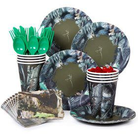 Next Camo Party Standard Tableware Kit Serves 8