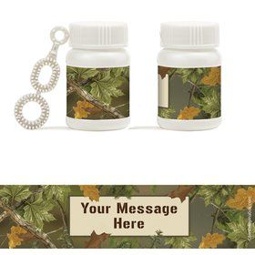 Next Camo Personalized Bubbles (18 Pack)