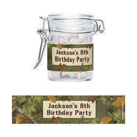 Next Camo Personalized Swing Top Apothecary Jars (12 ct)