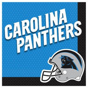 NFL Carolina Panthers Luncheon Napkins (16 Pack)