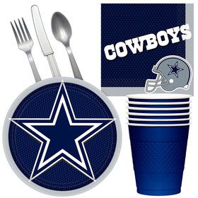 NFL Dallas Cowboys Tailgate Party Pack (For 16 Guests)