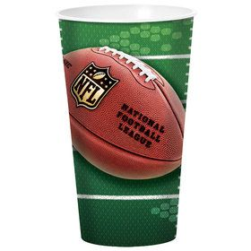 NFL Football Plastic Stadium Cup 32oz (Each)