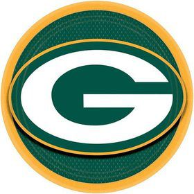 "Nfl Green Bay Packers 9"" Luncheon Plates (8 Pack)"