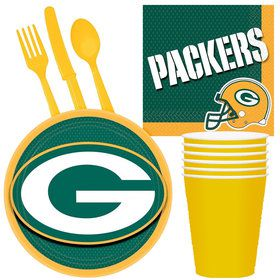 NFL Green Bay Packers Tailgate Party Pack (For 16 Guests)