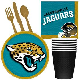 NFL Jacksonville Jaguars Tailgate Party Pack (For 16 Guests)