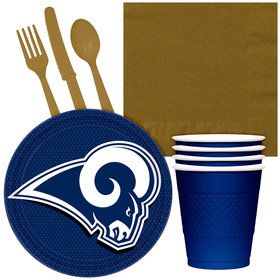 NFL Los Angeles Rams Tailgate Party Pack (For 16 Guests)