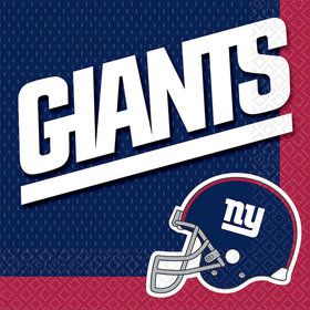 Nfl New York Giants Luncheon Napkins (16 Pack)