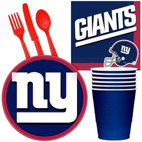 NFL New York Giants Tailgate Party Pack (For 16 Guests)