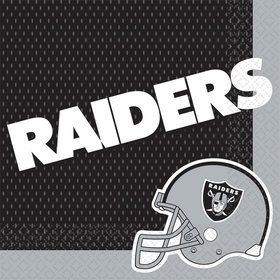 NFL Oakland Raiders Luncheon Napkins (16 Pack)