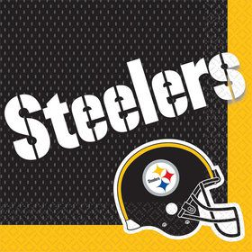 Nfl Pittsburgh Steelers Luncheon Napkins (16 Pack)