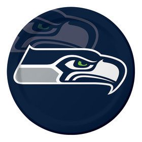 "NFL Seattle Seahawks 9"" Luncheon Plates (8 Count)"