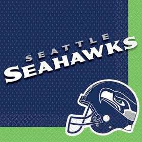 NFL Seattle Seahawks Luncheon Napkins (16 Pack)