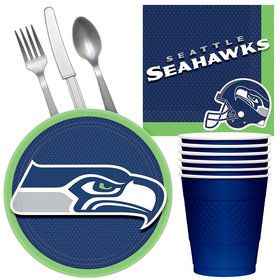 NFL Seattle Seahawks Tailgate Party Pack (For 16 Guests)