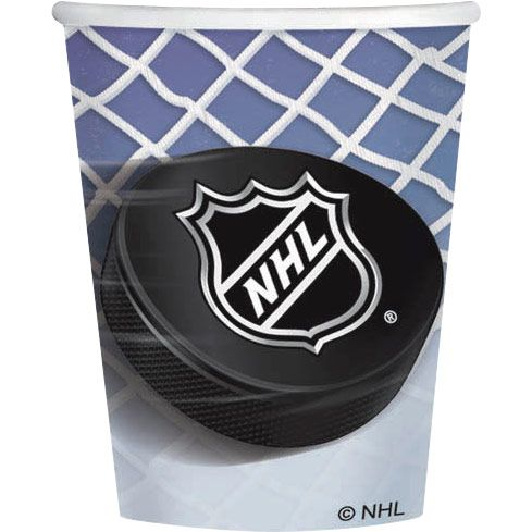 Nhl Hockey 9Oz Cups (8 Pack) - Party Supplies BB583834
